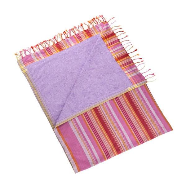 Ręcznik Purlen Pink, 100x178 cm