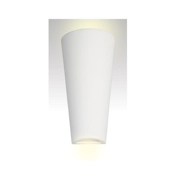 Kinkiet ceramiczny Tuba, biały