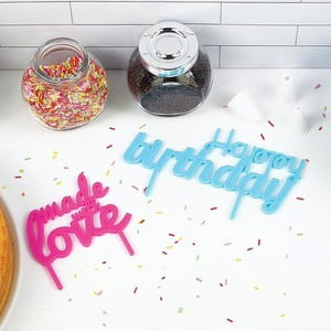 Napis na tort Cake Banner