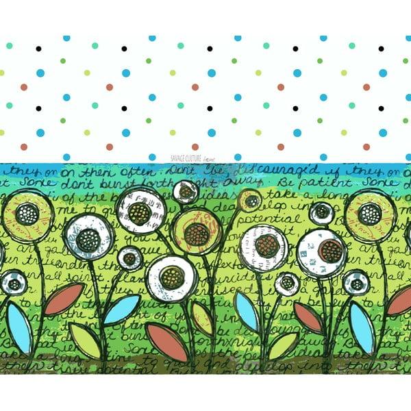 Pościel Tessa Maloy Verde, 140x200 cm