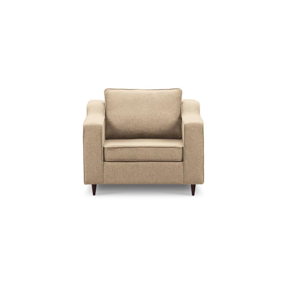 Beżowy fotel Mazzini Sofas Narcisse