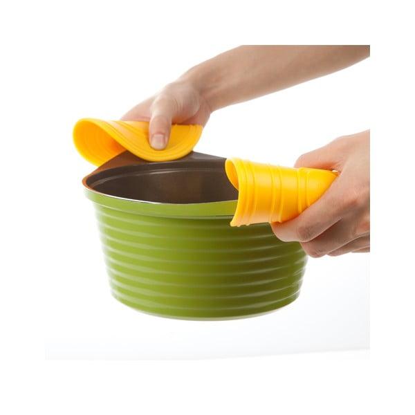 Zestaw łapek/podkładek kuchennych Egg Trivet Yellow