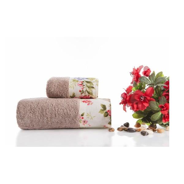 Zestaw 2 ręczników Anna V2, 30x50 cm + 50x90 cm