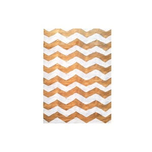 Ręcznie tkany dywan Kilim Design Three Orange, 160x230 cm
