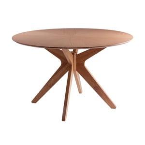 Stół w dekorze drewna dębowego sømcasa Carmel, ⌀ 120 cm