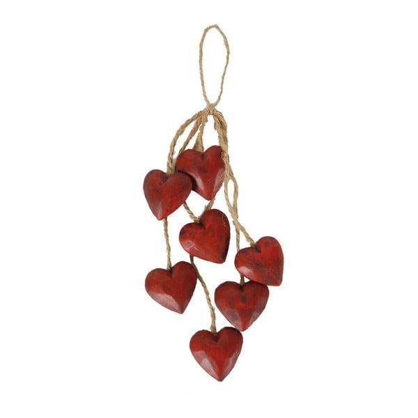 Dekoracja wisząca Antic Line Red Heart
