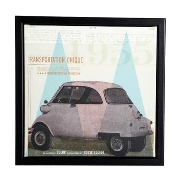 Ramka z obrazkiem Transporttation, 25x25 cm