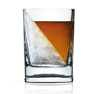 Szklanka do whisky z formą na lód Whiskey Wedge