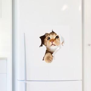 Naklejka Ambiance Cat in Hole
