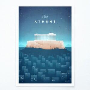 Plakat Travelposter Athens, A3