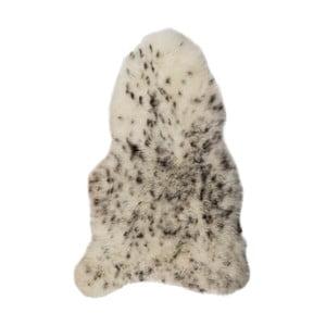 Czarno-biała skóra owcza z krótkim włosiem Spotted, 90 x 60 cm