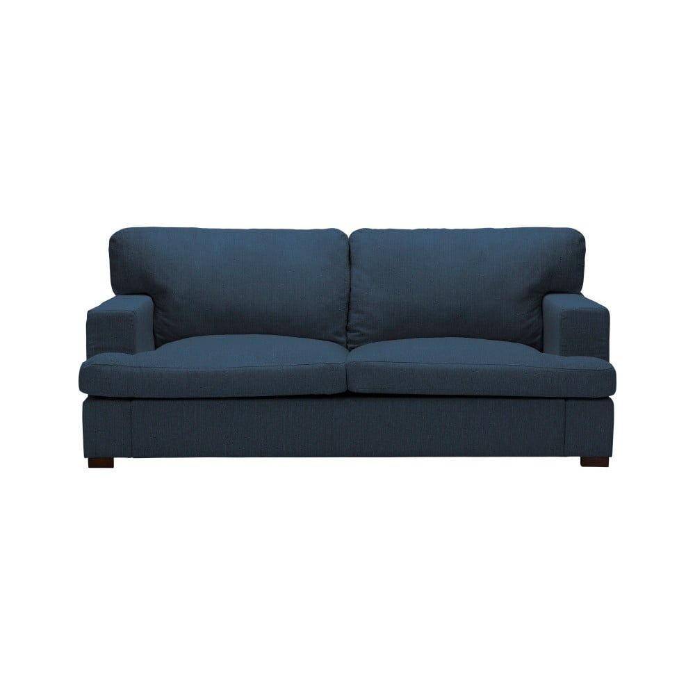 Niebieska sofa 2-osobowa The Classic Living Daphne