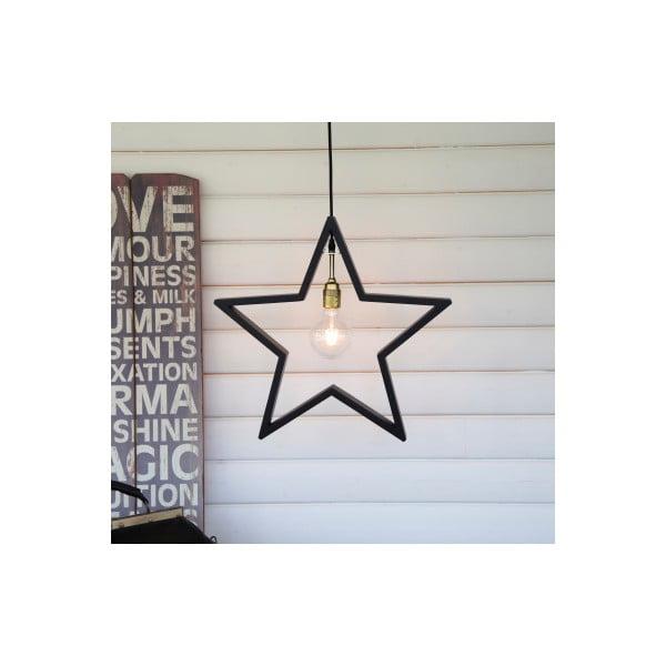 Wisząca gwiazda świecąca Best Season Hanging Brown