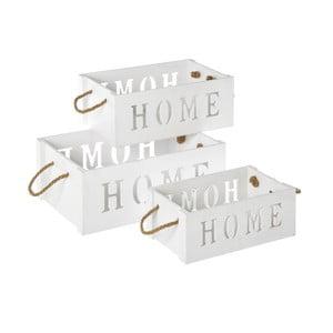 Zestaw 3 pojemników Unimasa Home