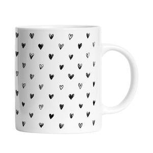 Ceramiczny kubek Simple Love, 330 ml