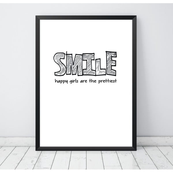 Plakat Nord & Co Smile, 40 x 50 cm