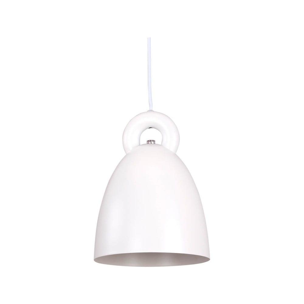 Biała lampa wisząca sømcasa Segart