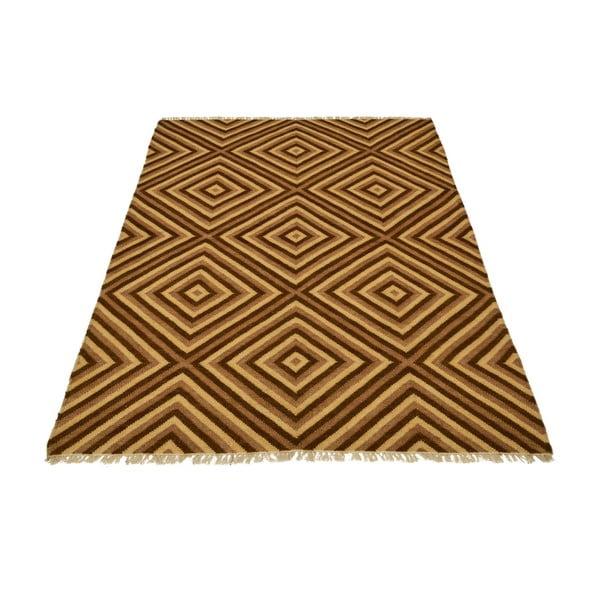 Ręcznie tkany dywan Kilim 161, 145x192 cm