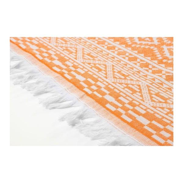 Ręcznik hammam Motif Orange, 100x175 cm