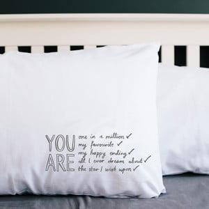 Poszewka na poduszkę All I Ever Dream, 50x70 cm