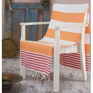 Ręcznik hammam Antalya Orange, 100x180 cm