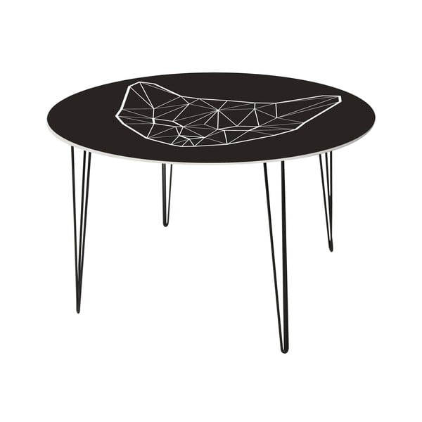 Stół do jadalni Geometric Cat, 120 cm