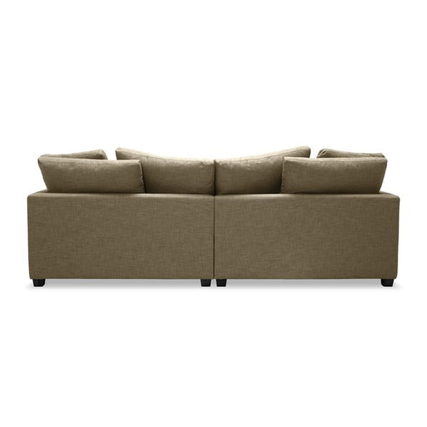 Jasnobrązowa sofa 3-osobowa Vivonita Hugo