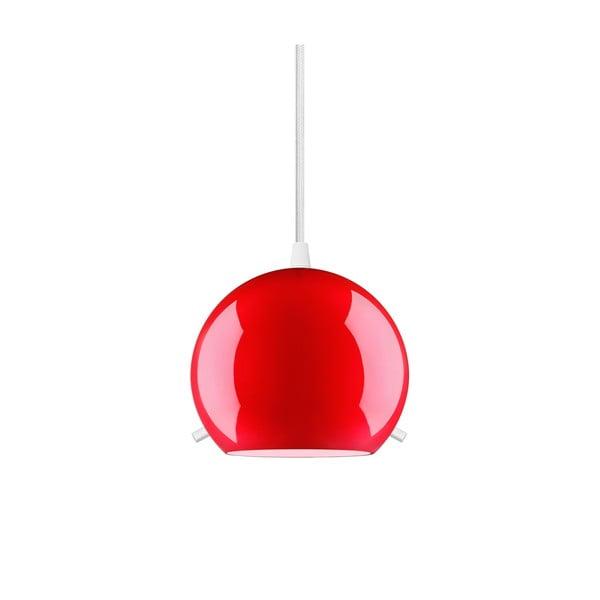Lampa MYOO Elementary, błyszcząca czerwona/biała/biała