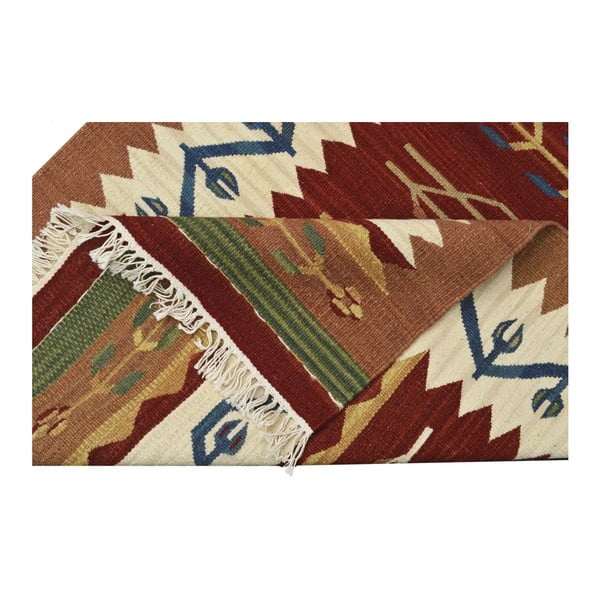 Ręcznie tkany dywan Kilim Classic AK04 Mix, 95x155 cm