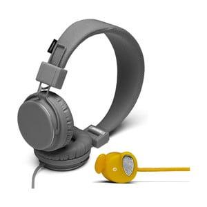 Słuchawki Plattan Dark Grey + słuchawki Medis Mustard GRATIS