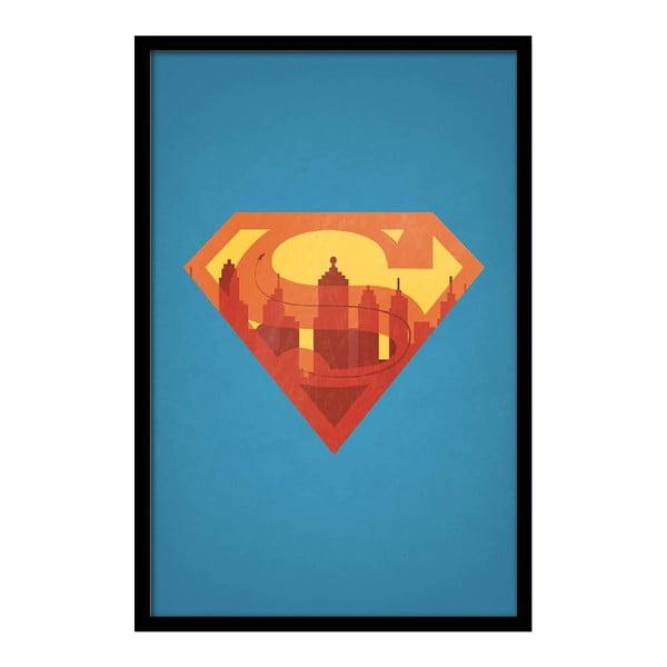 Plakat Superman, 35x30 cm