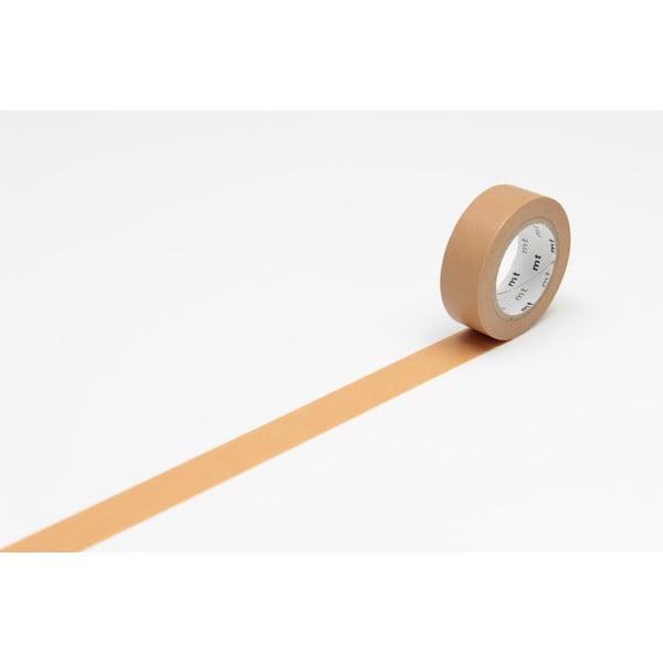 Beżowa taśma dekoracyjna washi MT Masking Tape Uni