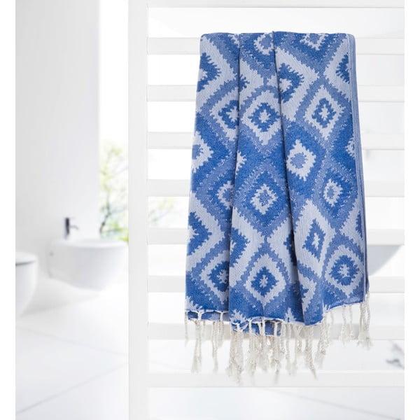 Ręcznik hammam Joy, ciemnoniebieski