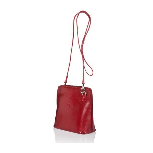 Czerwona torebka skórzana Giorgio Costa Jacintha