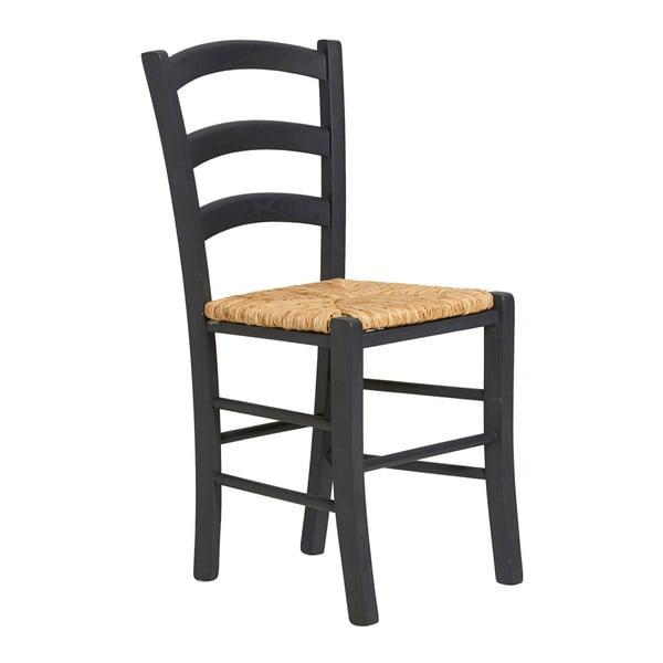 Zestaw 2 szarych krzeseł do jadalni Marckeric Paloma