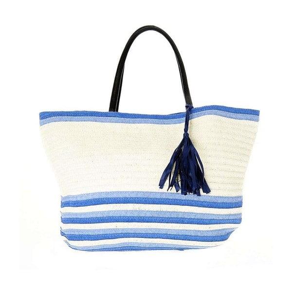 Torba plażowa BLE by Inart Blue Tassel