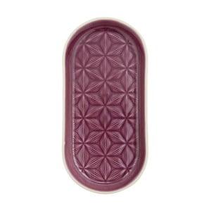 Fioletowa taca ceramiczna Kallia