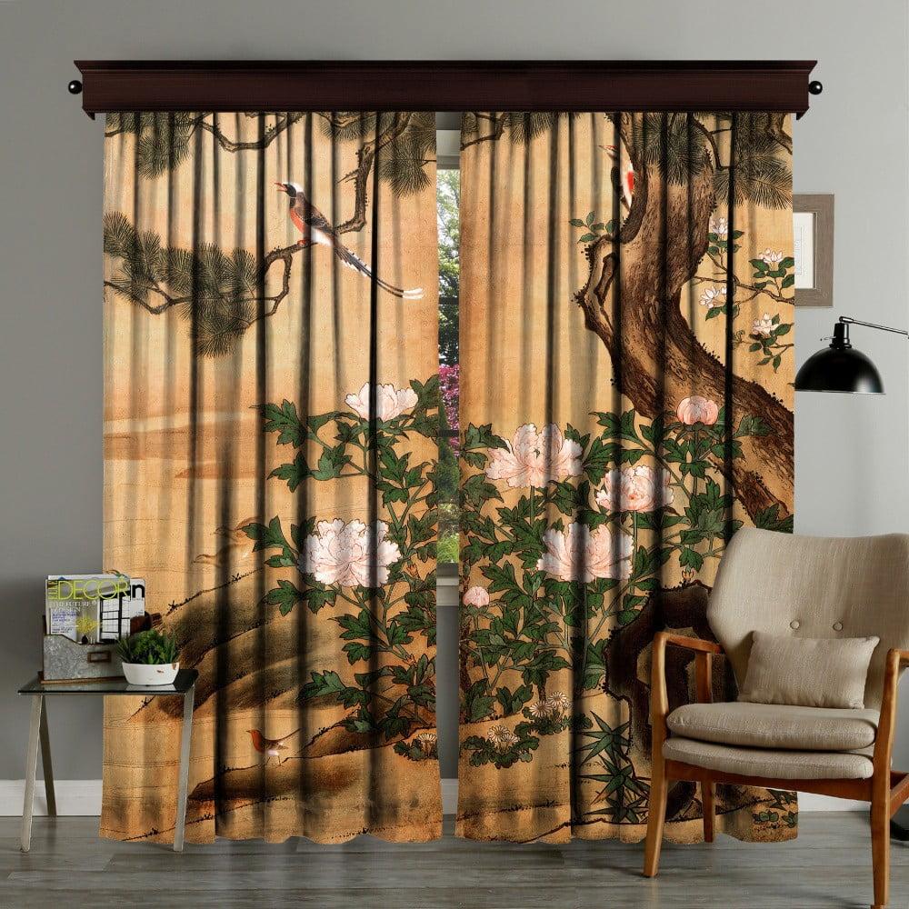 Zestaw 2 zasłon Curtain Palido, 140x260 cm