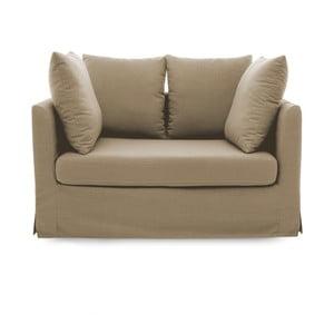 Beżowa sofa 2-osobowa Vivonita Coraly