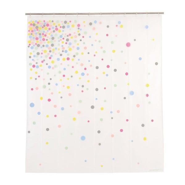 Zasłona prysznicowa Confetti, 200x180 cm