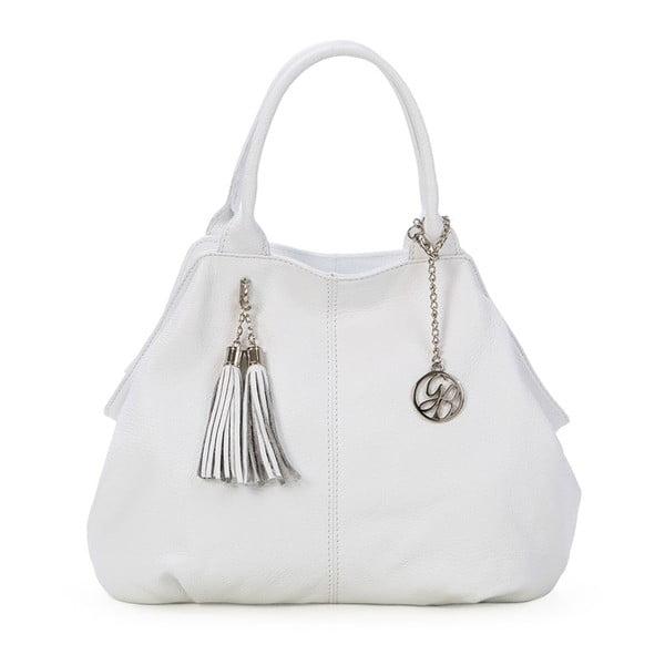 Skórzana torebka Pietro, biała