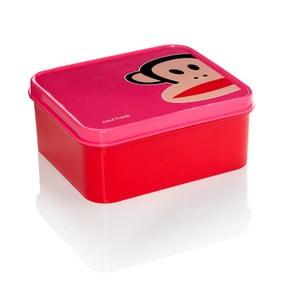 Pudełko śniadaniowe, różowe