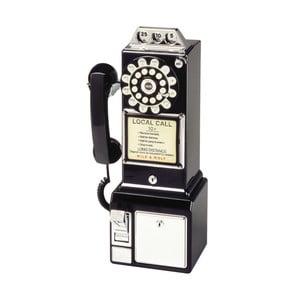 Telefon stacjonarny w stylu retro Black Dinner