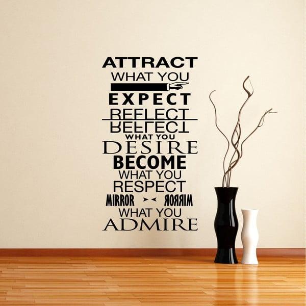 Naklejka Desire - Admire