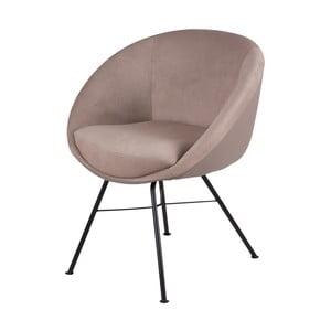 Beżowe krzesło sømcasa Alexa