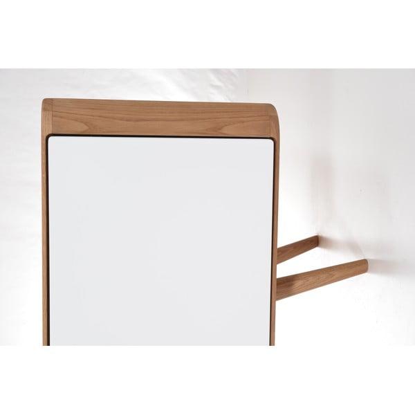 Kredens dębowy Gazzda Ena, 180x42x60 cm