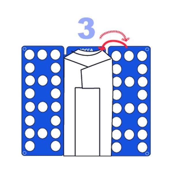 Białe urządzenie do składania koszulek Jocca