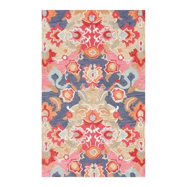 Dywan tuftowany ręcznie nuLOOM Florista Multi, 122x183 cm