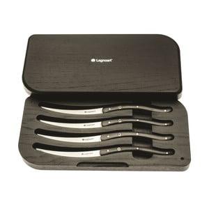 Zestaw 4 noży do steków Ghemme, czerń