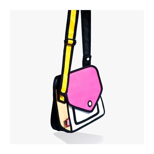 Torba komiksowa Giggle Dark Pink